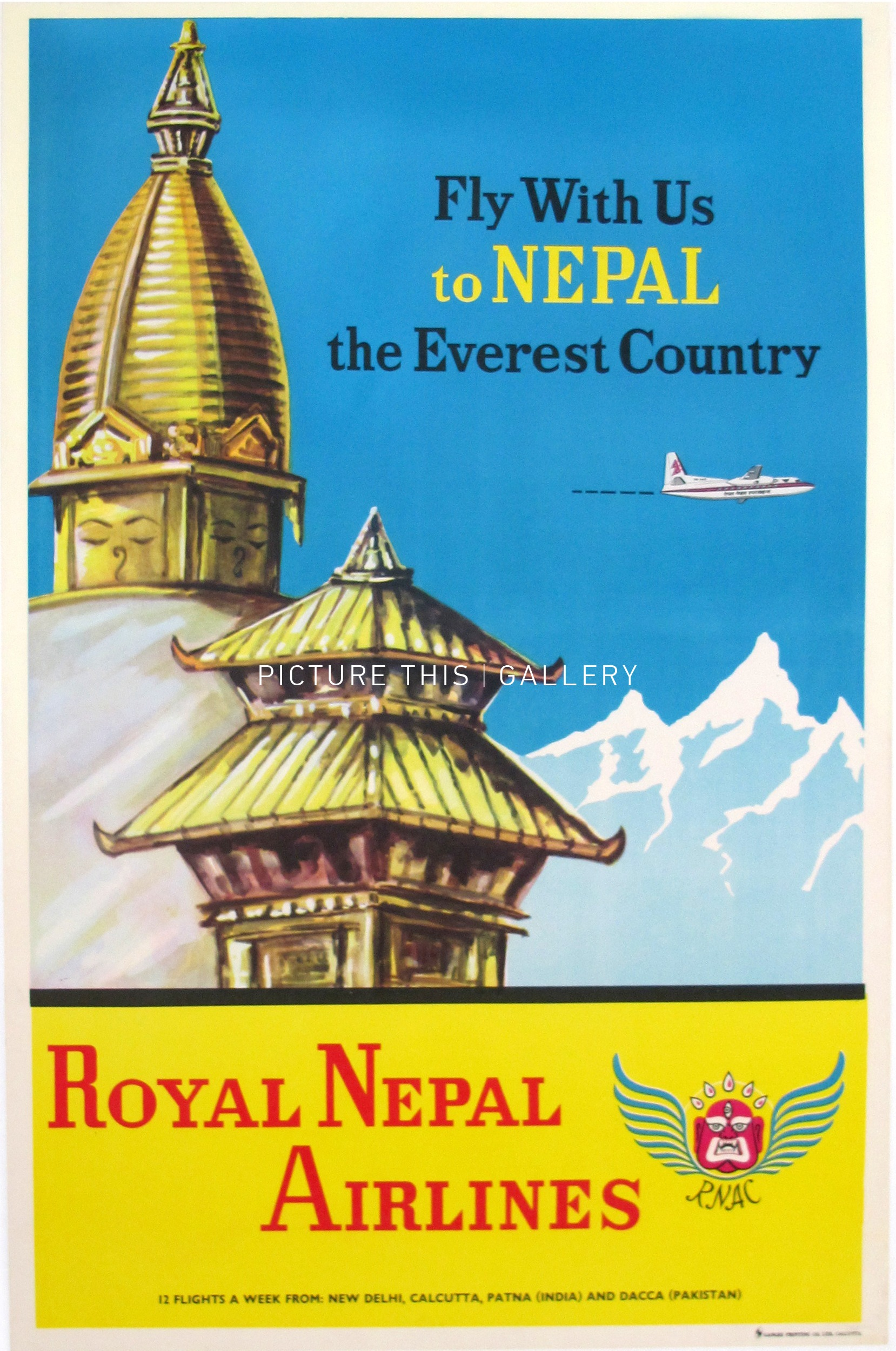 T1292 Royal Nepal Airlines Fly